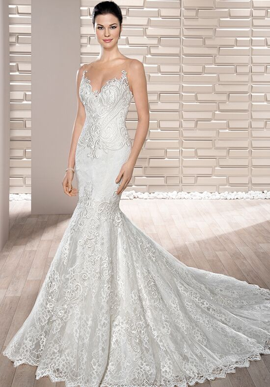 Demetrios 710 Mermaid Wedding Dress