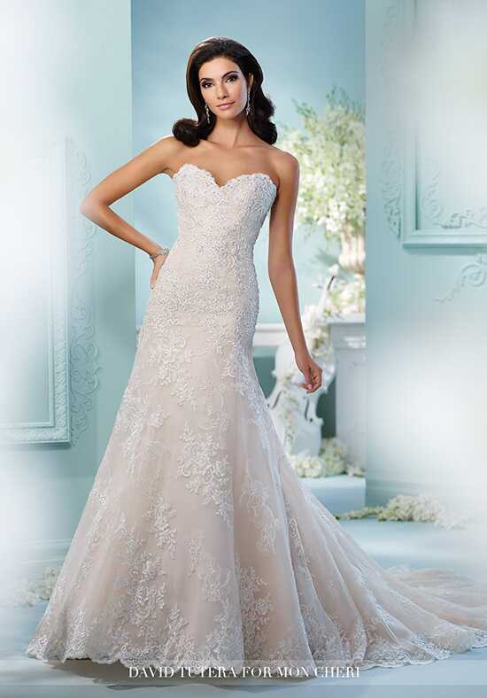 David Tutera for Mon Cheri 216249 Coventina Mermaid Wedding Dress