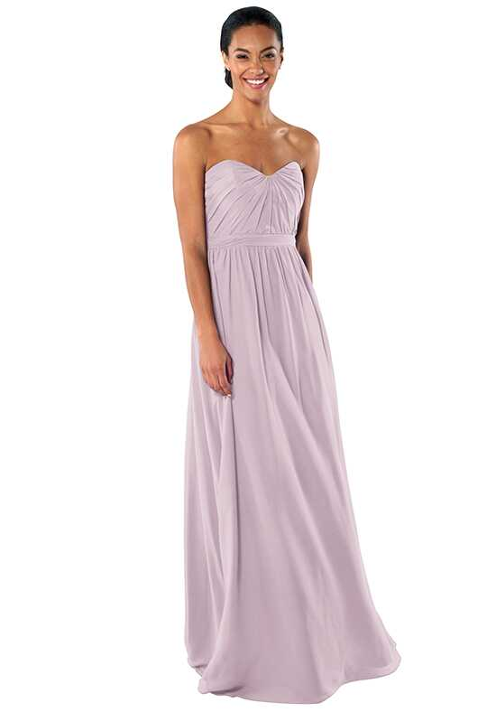 Brideside Phoebe in Macaron Sweetheart Bridesmaid Dress
