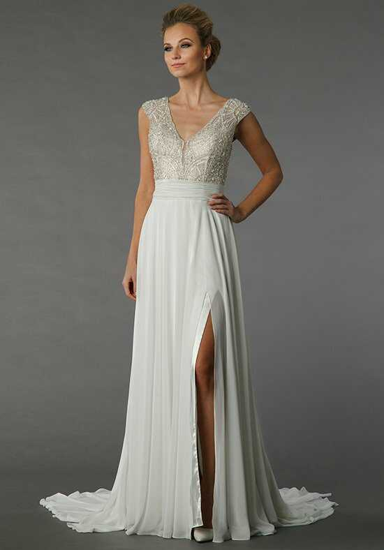 Danielle Caprese for Kleinfeld 113080 Sheath Wedding Dress