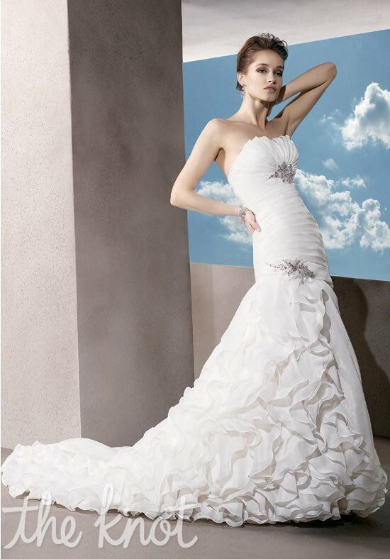 Demetrios 3182 Mermaid Wedding Dress