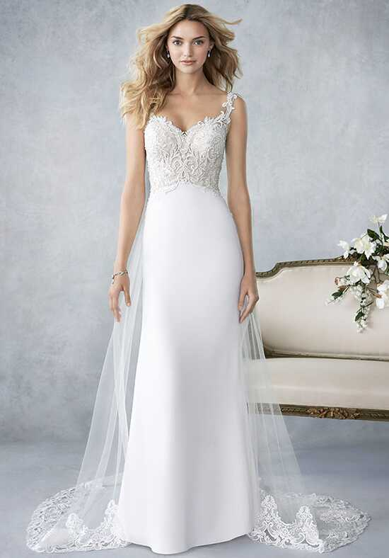 Kenneth Winston: Ella Rosa Collection BE419 Sheath Wedding Dress