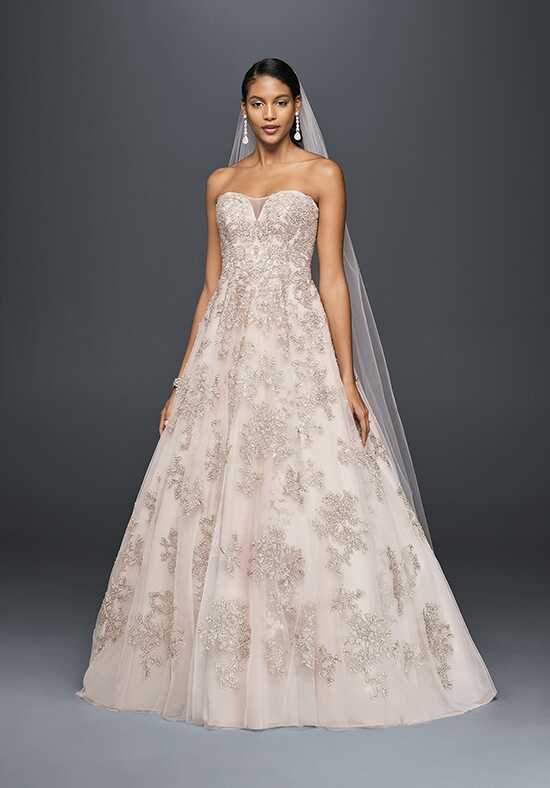 Oleg Cassini at David's Bridal Oleg Cassini Style CWG767 Ball Gown Wedding Dress