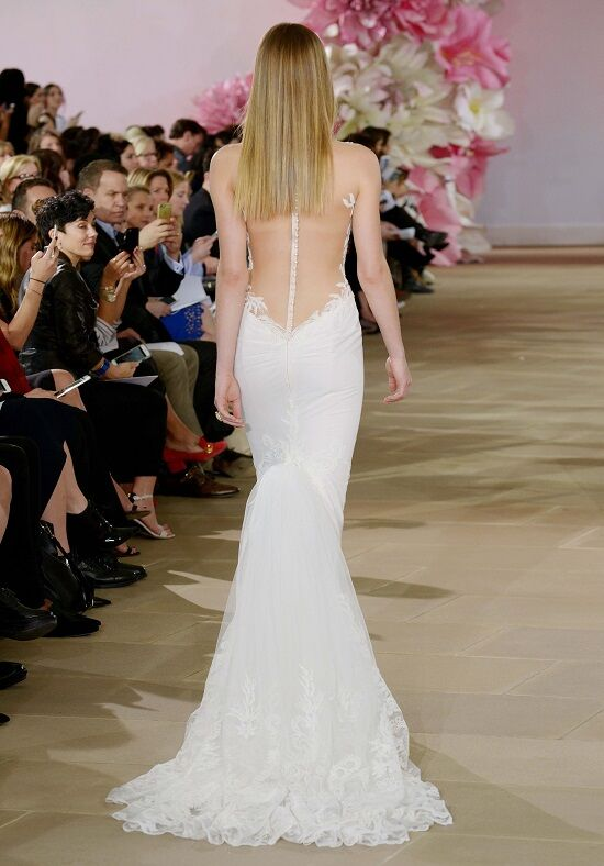 Ines di santo rapture wedding dress the knot for Ines di santo wedding dresses prices