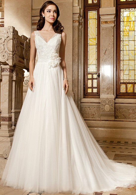 Demetrios GR267 A-Line Wedding Dress