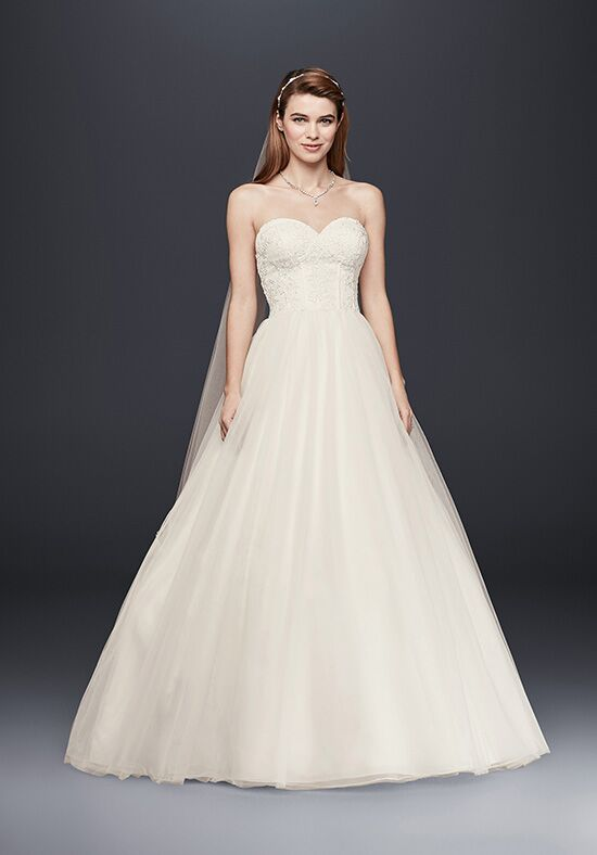 David's Bridal David's Bridal Collection Style WG3633 Ball Gown Wedding Dress