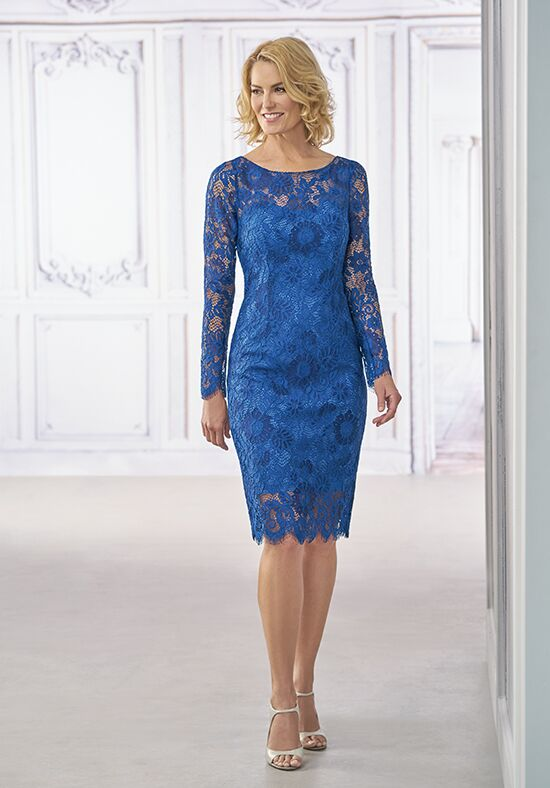 Jasmine Black Label M190012 Blue Mother Of The Bride Dress
