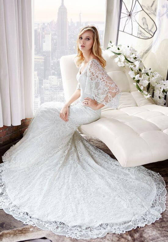 Val Stefani D8115 Mermaid Wedding Dress