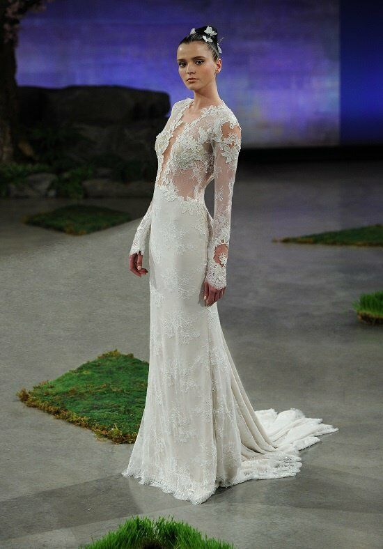 Ines Di Santo Bianca Sheath Wedding Dress