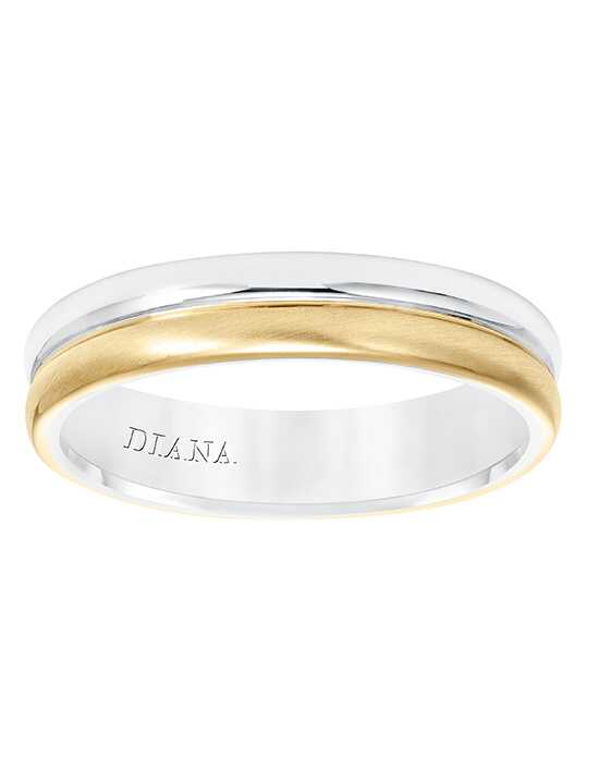 Diana 11-N8655WY5-G White Gold, Gold Wedding Ring