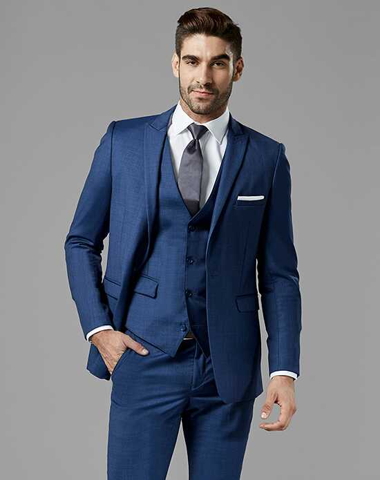 Generation Tux Mystic Blue Peak Lapel Suit