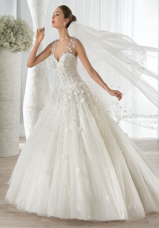 Demetrios 602 Ball Gown Wedding Dress