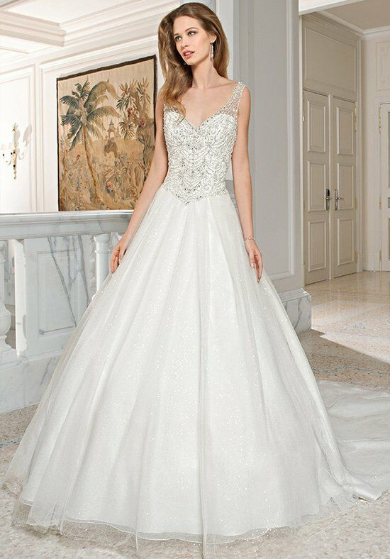 Demetrios C210 A-Line Wedding Dress