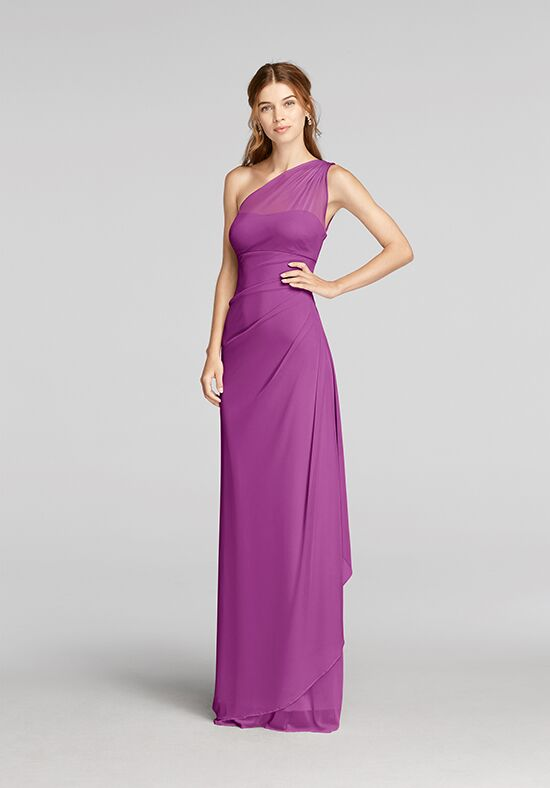 David's Bridal Collection David's Bridal Style F19074 One Shoulder Bridesmaid Dress
