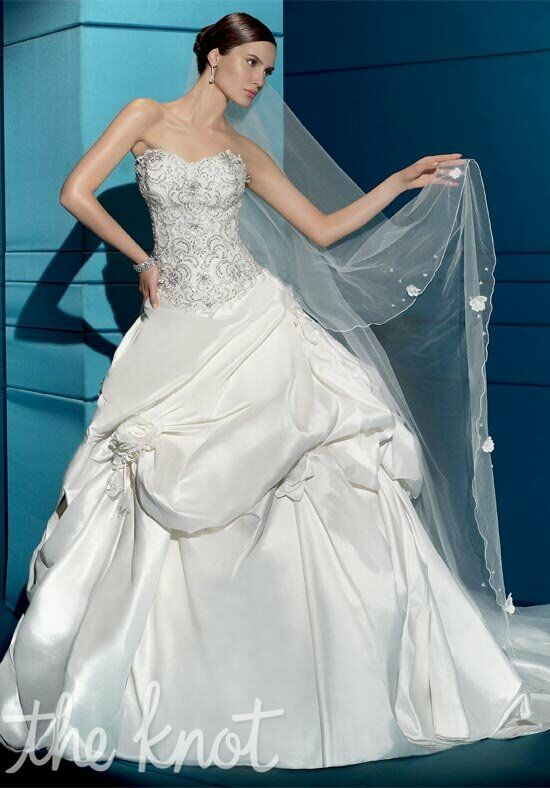 Demetrios 2840 A-Line Wedding Dress