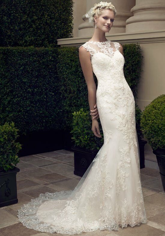 Casablanca Bridal 2198 Sheath Wedding Dress