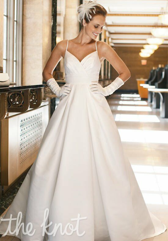 galina exclusively at davids bridal es9808 ball gown wedding dress