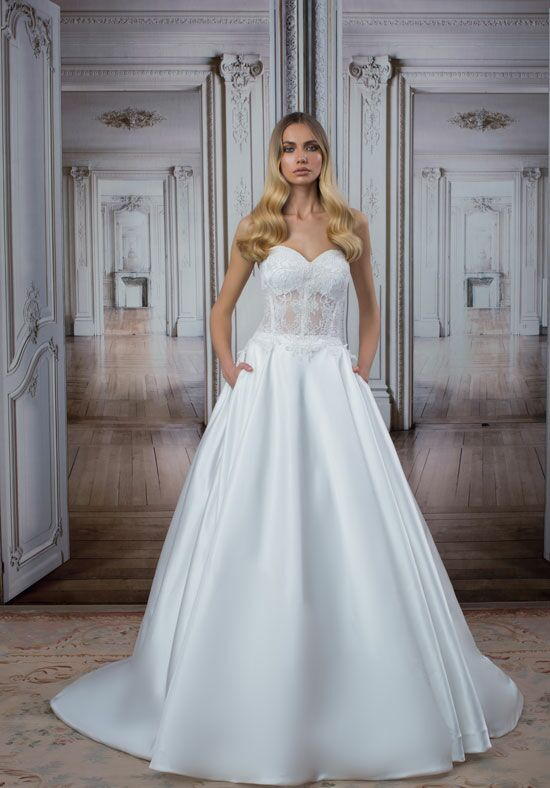 LOVE by Pnina Tornai for Kleinfeld 14486 Ball Gown Wedding Dress