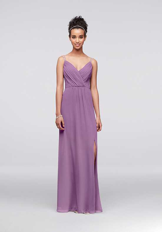 David's Bridal Collection David's Bridal Style F19281 V-Neck Bridesmaid Dress