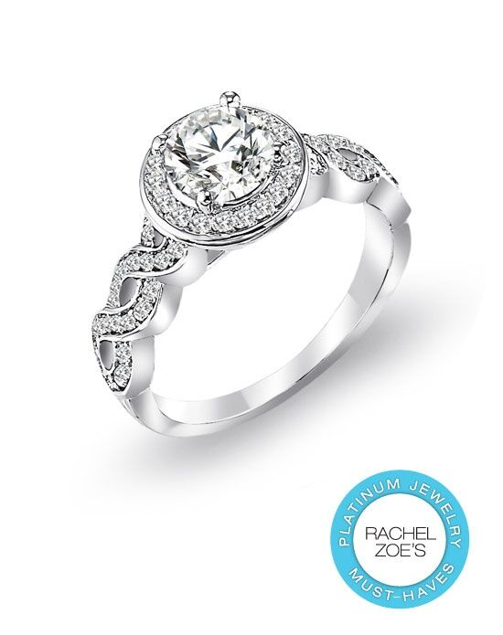 Deactive Rachel Zoes Platinum Must-Haves ArtCarved Platinum Wedding Ring