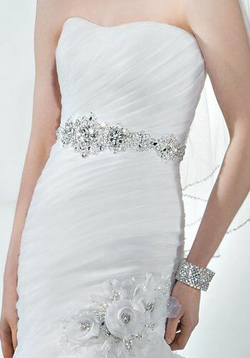 Demetrios 3183 Mermaid Wedding Dress