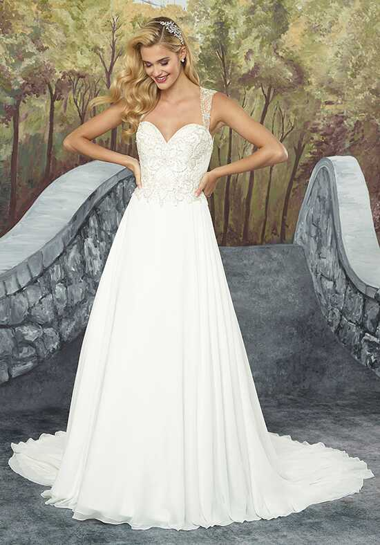 Justin Alexander 8931 A-Line Wedding Dress