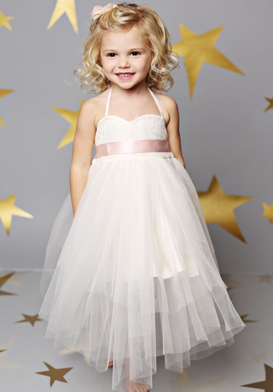 FATTIEPIE Chloe Ivory Flower Girl Dress