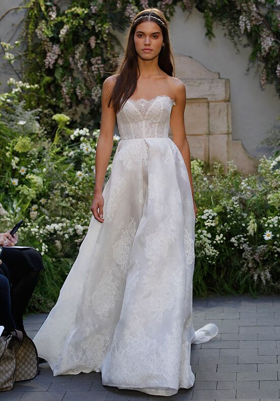 Monique Lhuillier Ellery Ball Gown Wedding Dress