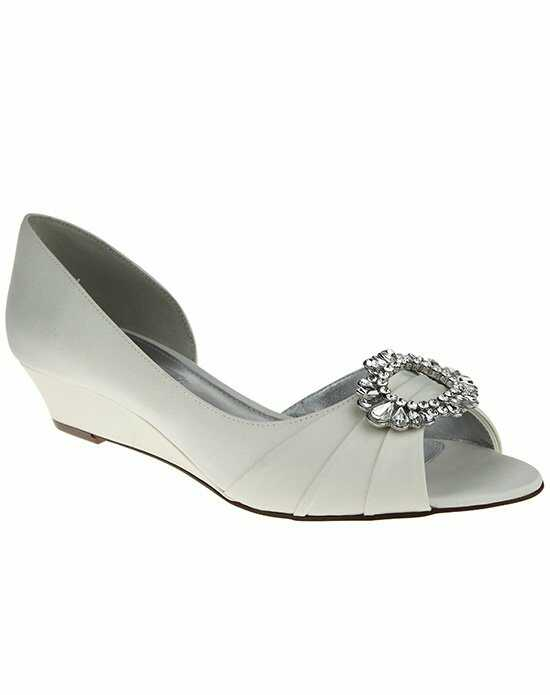 Nina Bridal Wedding Accessories Rivka Ivory Shoe