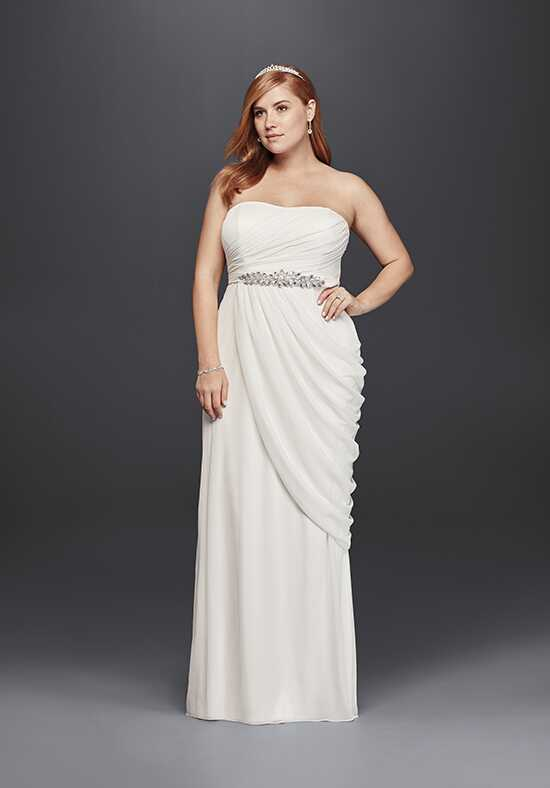 David's Bridal DB Studio Style 9SDWG0417 Sheath Wedding Dress
