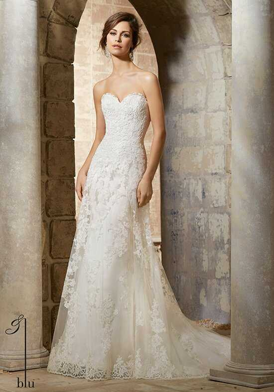 Morilee by Madeline Gardner/Blu 5367 Sheath Wedding Dress