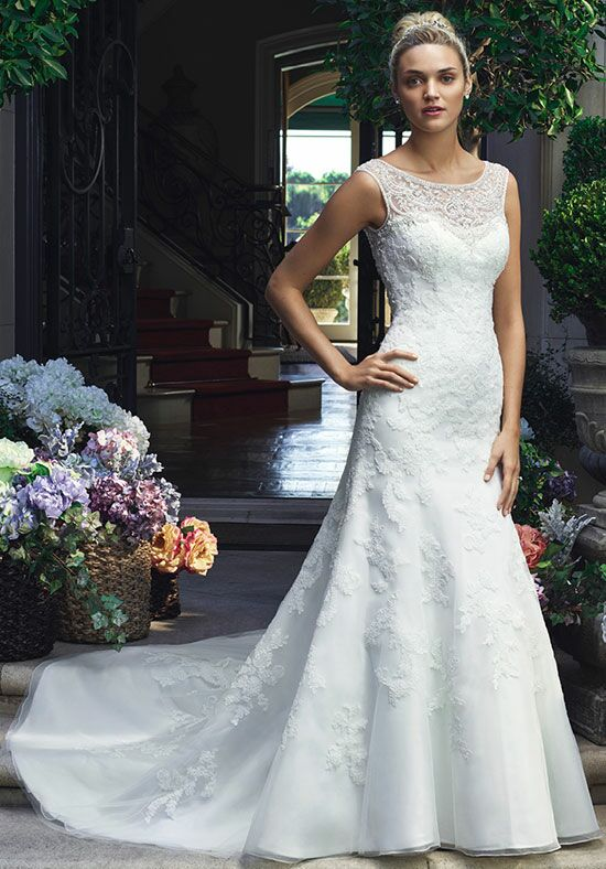 Casablanca Bridal 2217 A-Line Wedding Dress