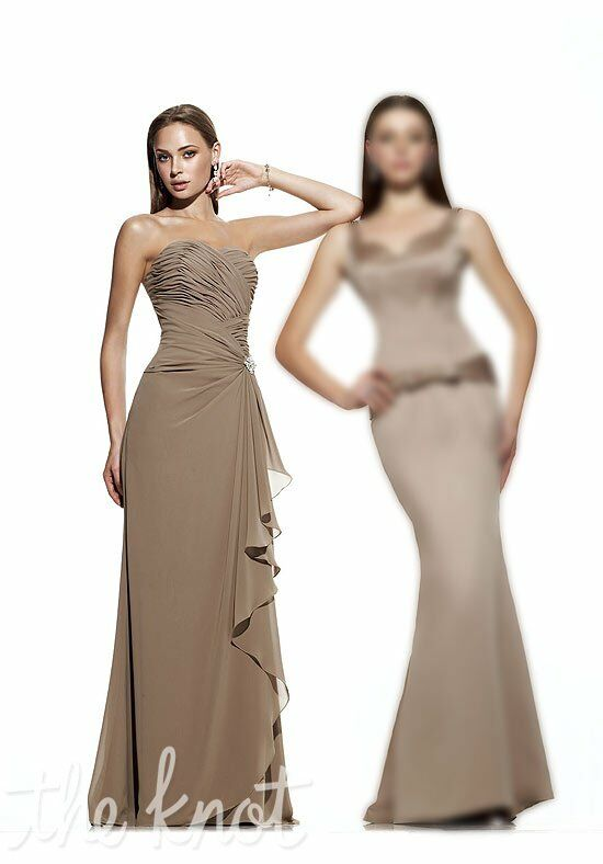 Impression Bridesmaids 1629 Strapless Bridesmaid Dress