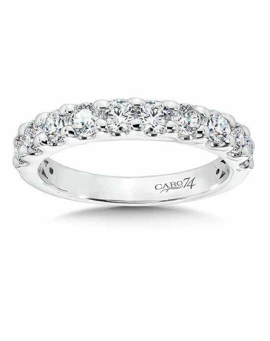 Caro 74 CRA3100BW White Gold Wedding Ring