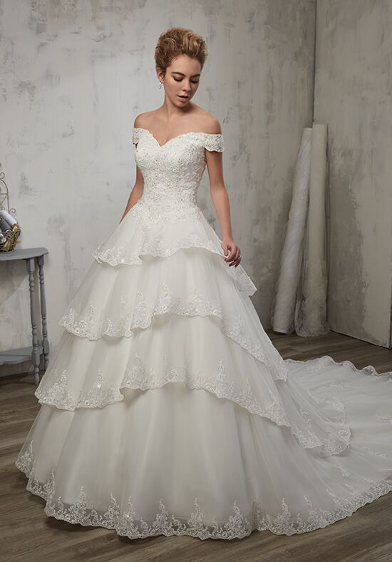 1 Wedding by Mary's Bridal 6598 Ball Gown Wedding Dress