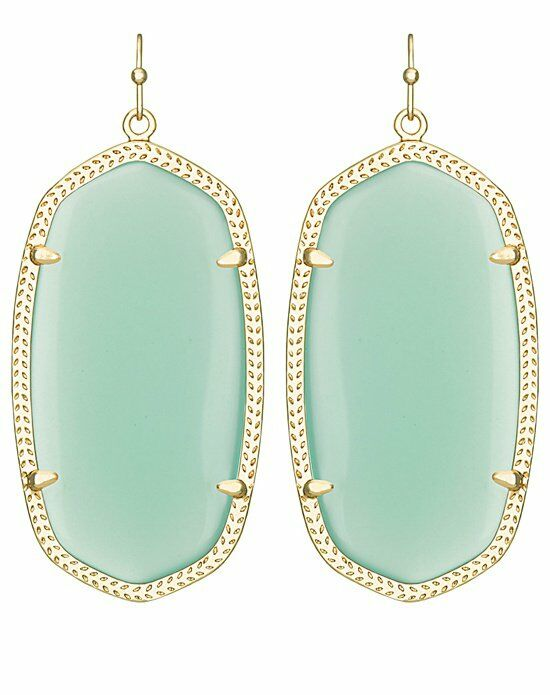 Kendra Scott Danielle Earrings in Chalcedony Wedding Earrings photo