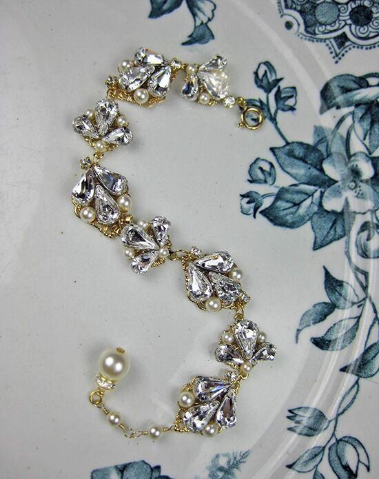 Everything Angelic Abbey Bracelet - b183 gold Wedding Bracelet photo