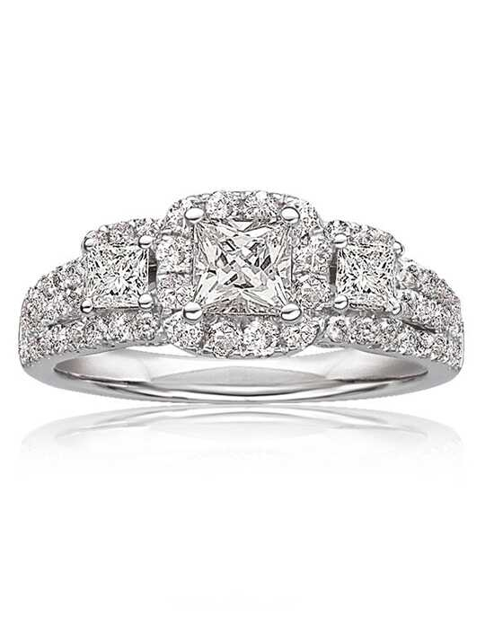 Rogers & Hollands® Classic Princess Cut Engagement Ring