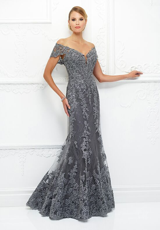 Ivonne D. 118D12 Blue Mother Of The Bride Dress
