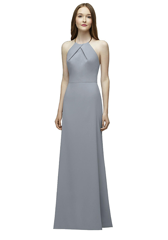 Lela Rose Bridesmaids LR227 Halter Bridesmaid Dress