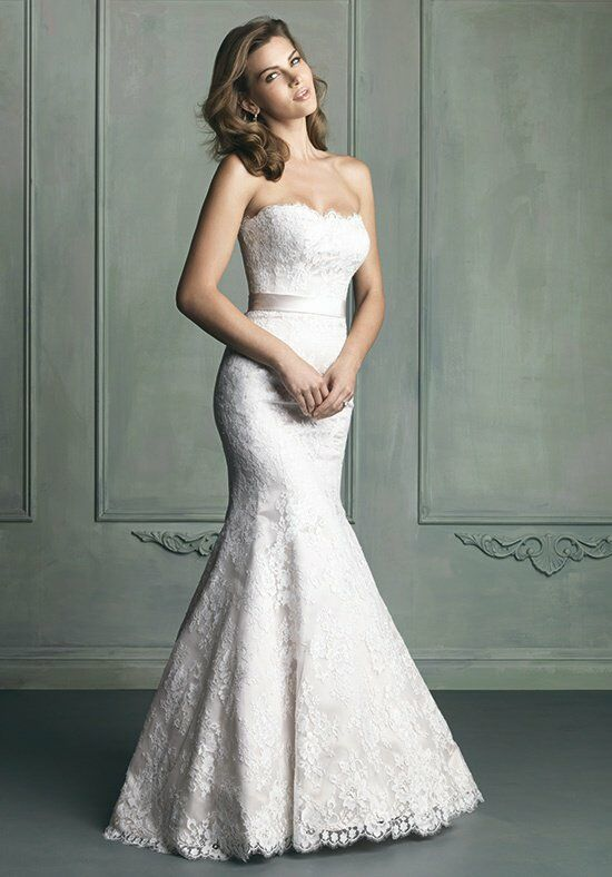 Allure Bridals 9117 Mermaid Wedding Dress
