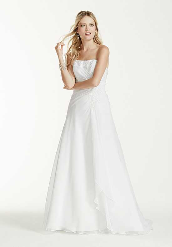 David's Bridal David's Bridal Collection Style V9409 A-Line Wedding Dress