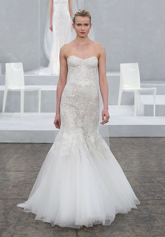 Monique Lhuillier Destiny Mermaid Wedding Dress