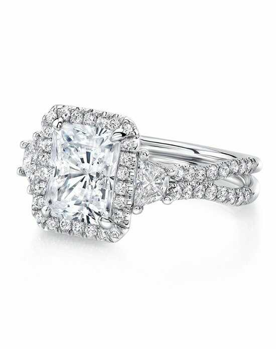 Uneek Fine Jewelry Radiant Cut Engagement Ring
