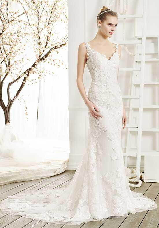 Beloved by Casablanca Bridal BL215 Serenity Sheath Wedding Dress