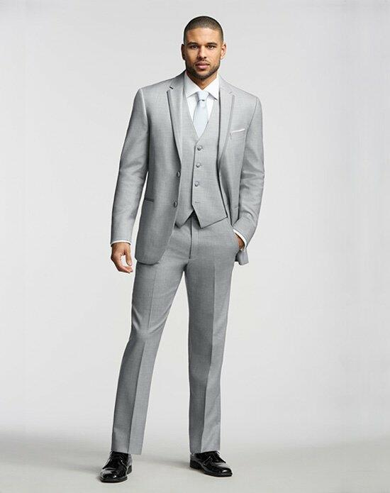Men's Wearhouse Joseph Abboud® Gray Tuxedo Wedding Tuxedos + Suit photo