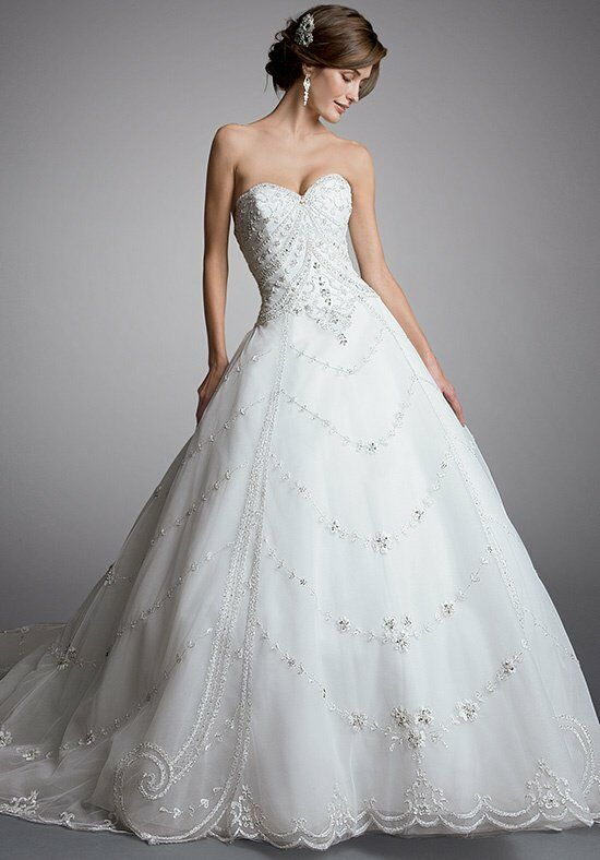 Amalia carrara by eve of milady 330 wedding dress the knot for How do you preserve a wedding dress