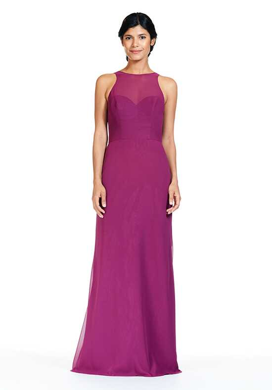 Bari Jay Bridesmaids 1835 Illusion Bridesmaid Dress