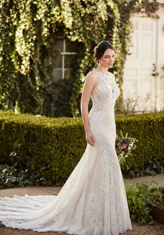Martina Liana 936 Sheath Wedding Dress