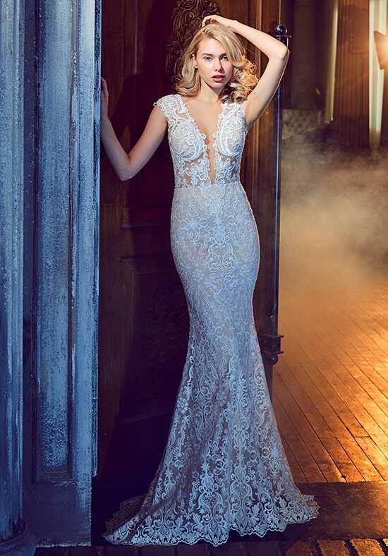 Calla Blanche 17241 Beryl Sheath Wedding Dress